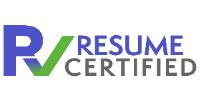 Resume Certified